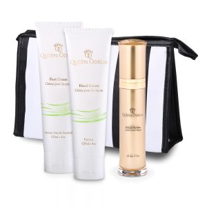 Queen Odelia - Luxury Gift Set - serum - hand cream - foot cream